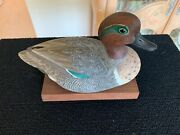 Duck Decoy Wood Carving By Ron Tepley 1979 Ducks Unlimited Annual Event Mint