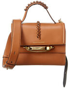 Alexander Mcqueen The Story Leather Shoulder Bag Womenand039s Brown