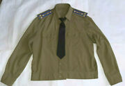 Soviet Military Uniform Everyday. Shirt And Tie Of Kgb Colonel