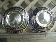 Vintage Ford 1965 66 427 Galaxie Fairlane Ltd Police Truck Hubcaps Wheel Covers