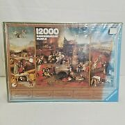 12000 Piece Ravensburger Puzzle Hieronymus Bosch The Temptation Of St. Anthony
