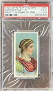 Constantine The Great 1925 John Player And Sons Leaders Of Men 10 Psa 5.5 Ex+