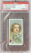 Peter The Great 1925 John Player And Sons Leaders Of Men 38 Psa 5.5 Ex+
