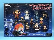 Neca The Year Without A Santa Claus 11 Piece Pvc Figurine Set - Brand New Rare