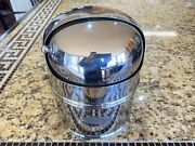 Vintage Danforth 5 Constellation Compass Polished Ss Binnacle Mt. W/led And Hood