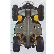 Can-am Atv New Oem Outlander Full Body Skid Plate/rock Guard Protection Kit