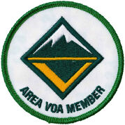 Boy Scout Area Voa Member Venturing Officers Association 3 Since 1910 Backing