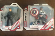 Disney Marvel Toybox Captain America Falcon And Winter Soldier 5 Action Figures