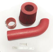 Coated Red For 1991-1997 Geo Metro 1.0l 1.3l Air Intake System Kit + Filter