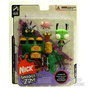 Invader Zim Series Two Doggie Disguise Gir Figure Dog Nick By Palisades Toys