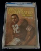 Jim Brown Cleveland Browns 1960 Sports Illustrated Newsstand Cgc 5.0 Rookie