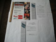 Topps Barb Wire Pamela Anderson Trading Cards Dealer Advertising Sell Sheets