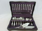 68pc Rogers Bros Remembrance Silver Plate Flatware Set Service For 12 W/chest