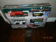 Sterling Train Set Holiday Express True Value Christmas