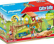 Playmobil City Life - Adventure Playground 70281 For Kids 4 Yrs Old And Up