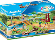 Playmobil Family Fun - Petting Zoo 70342 For Kids 4 Yrs Old And Up
