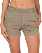Three Sixty Six Womens Golf Shorts - Quick Dry Active Shorts With Pockets, Athle