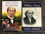 2 Biographies Of William Carey - Missionary - Timothy George And Daniel Webber