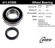 For Ford Custom Rear Set Of 2 Drive Axle Shaft Bearing Centric Parts 411.61000