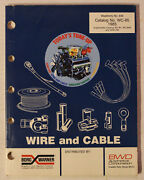 1985 Borg Warner Wire And Cable Parts Book Catalog Wc-85