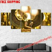 Framed Isis Goddess Egypt Wing Canvas Painting Photo Print Wall Art Home Decor