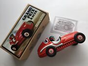 Tinplate Grand Prix Race Car By Schylling, Brand New And Boxed With Certificate