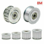 15t-30t Idler Timing Pulley 8m Synchronous Wheel For Drive Belt 15 - 40mm Width
