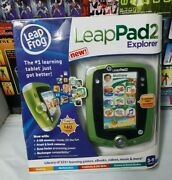Leappad 2 Explorer Leap Frog Game System Leap Pad W/5 Apps Included Brand New