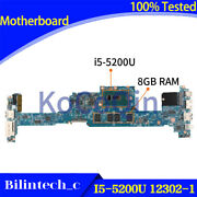 For Acer S7-392 S7-393 Motherboard I5-5200u 8gb 12302-1 48.4lz03.021