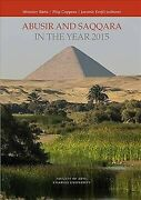 Abusir And Saqqara In The Year 2015 Hardcover By Barta Miroslav Edt Copp...