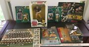 Nfl Green Bay Packers Lot Of 7 Figures Posters Brett Favre Collection