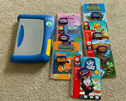 Leapfrog Leappad Plus Writing Learning System + 7 Books/cartridges, Tested Nice