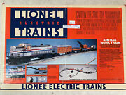 Lionel Amtrak Maintenance Work Train Set 6-11723 Engine And 5 Cars Only