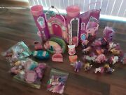 My Little Pony Celebration Castle W/ Lots Of Pony And Accessories Complete