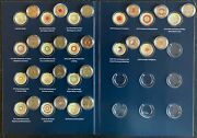 Australian 2 17 Coins Collection 2012 - 2020 Color Red Poppy And Coronation Queen