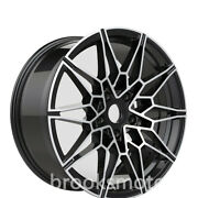 20 New Gloss Black Style Wheels Rim Fit For Bmw G20 21 3 4 Series G22 23 5x112
