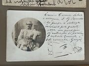 Enrico Caruso Signed Note On Photo, Original Self-caricature All 3 On Same Item