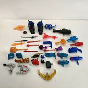 Hasbro Masher Mixed Lot Weapons Parts Attachments Swords And Other