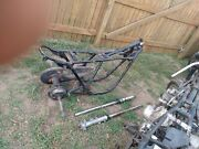 1974 Yamaha Project Tx750 Engine Frame Forks Atc Axle Tire No Shipping
