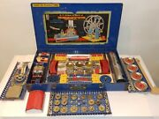 1941 Ac Gilbert All Electric Automotive Erector Set 9 1/2 Organized And Complete