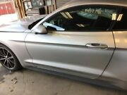 Driver Left Front Door Electric Coupe Fits 15-17 Mustang Silver 2639042