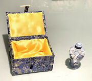 Vintage Antique Chinese Wang Bingrong Carved Porcelain Bird Perfume Snuff Bottle