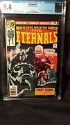 The Eternals Vol 1 Issue 1 Slabbed Cgc Grade 9.4 By Comic Blink