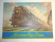American Flyer Trains Gilbert Train Catalog. Rolling Stock Accessories.1950s