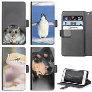 Animal Hamster Phone Case Iphone 678 Plus X Pu Leather Flip Cover For Apple