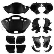 Headlight Fairing Speaker Glove Box Air Duct Fit For Harley Road Glide 2015-2021