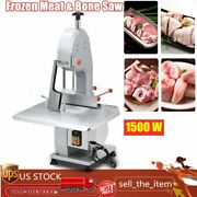 1500w Electric Meat Bone Saw Commercial Bone Frozen Meat And Fish Cutting Machine