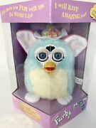 Not Tested/factory Sealed Furby Teal Yellow Easter Spring Hat