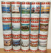 Rewe Worldcup Soccer 1970 Hansa Beer 15 Cans Set From Germany 35cl