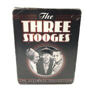 The Three Stooges Ultimate Collection Dvd 20 Disc Set Shorts Feature Films